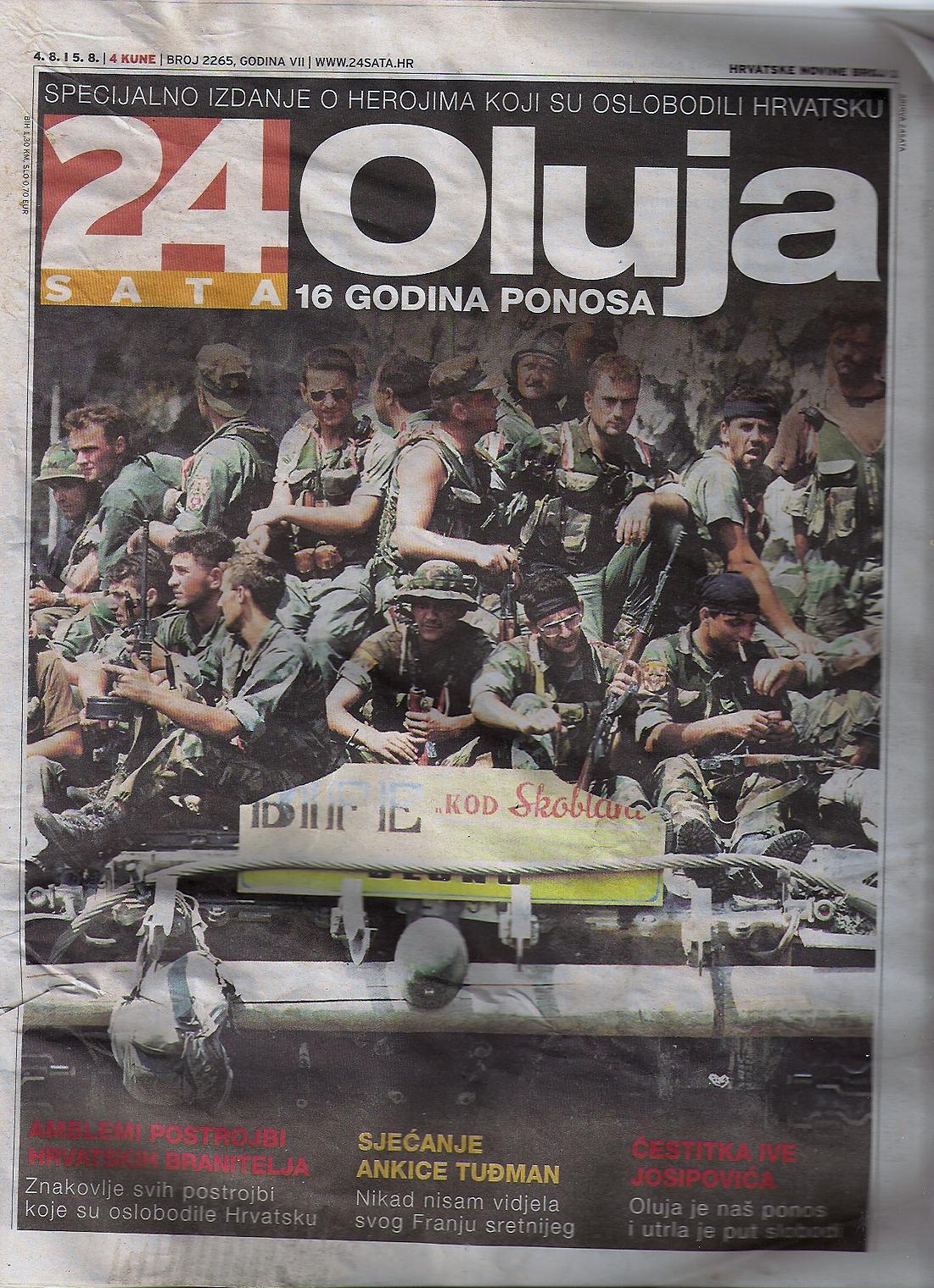 24 SATA Jugoslawienkrieg