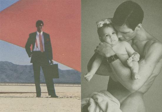 Ausschnitte von Anzeigen für ein Parfüm von Aramis (links) und das Modegeschäft Carol Rollo/Riding High.