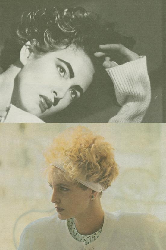 Anzeigen von Ecru und Guccci im INterview Magazine December 1986