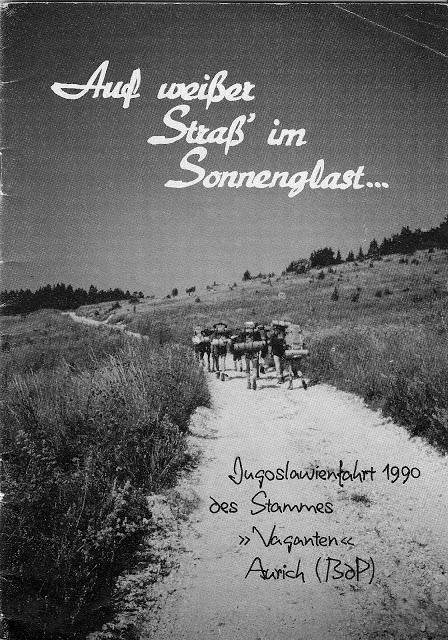 Vaganten Aurich Sommerfahrt 1990