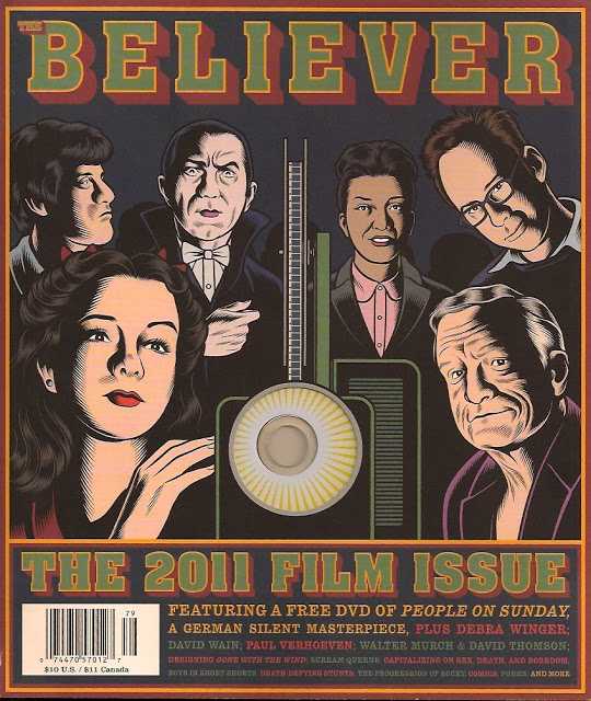 THE BELIEVER 2011 Film Issue