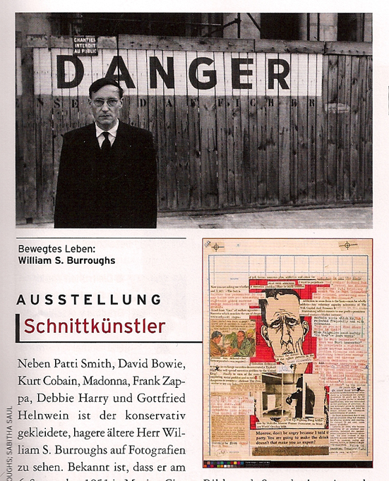 William S. Burroughs Ausstellung