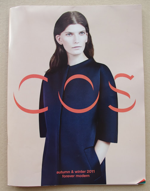 COS autumn winter 2011 forever modern catalog