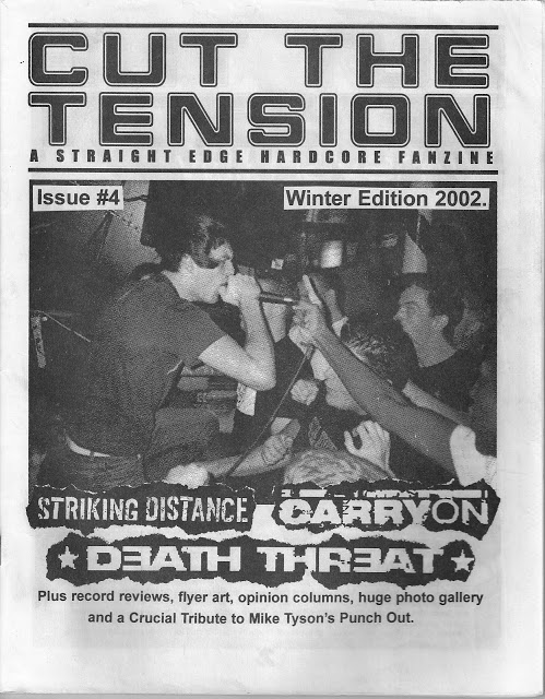 CUT THE TENSION Fanzine 4 2002 Carry On Death Threat