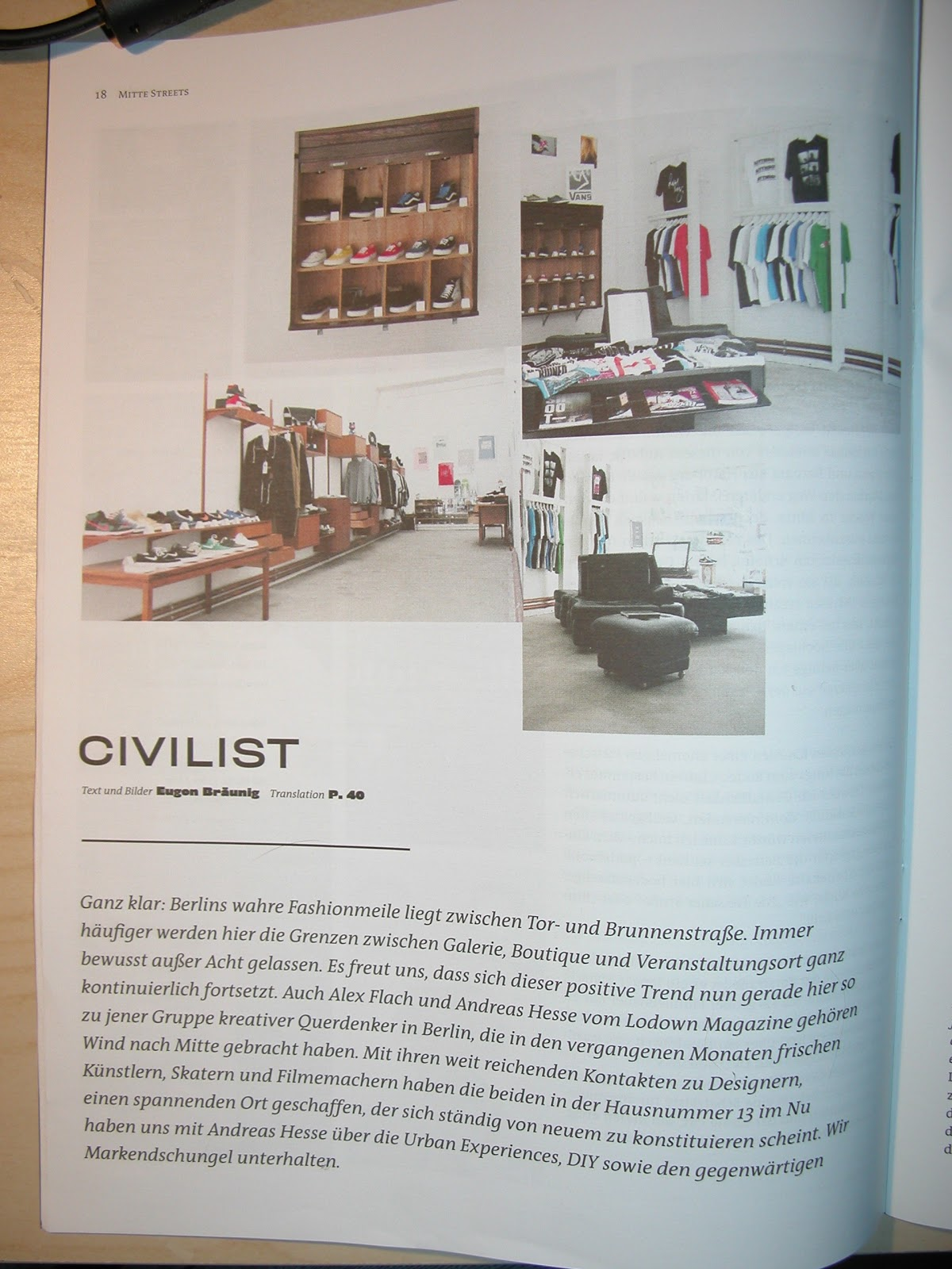 Civilist Store 2010