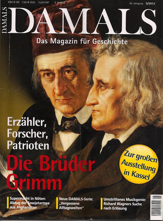 DAMALS Zeitschrift 5 2013 Brüder Grimm