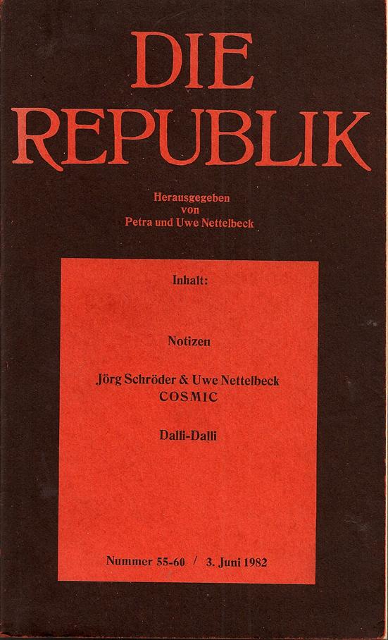 Die Republik Nummer 55 60 3. Juni 1982