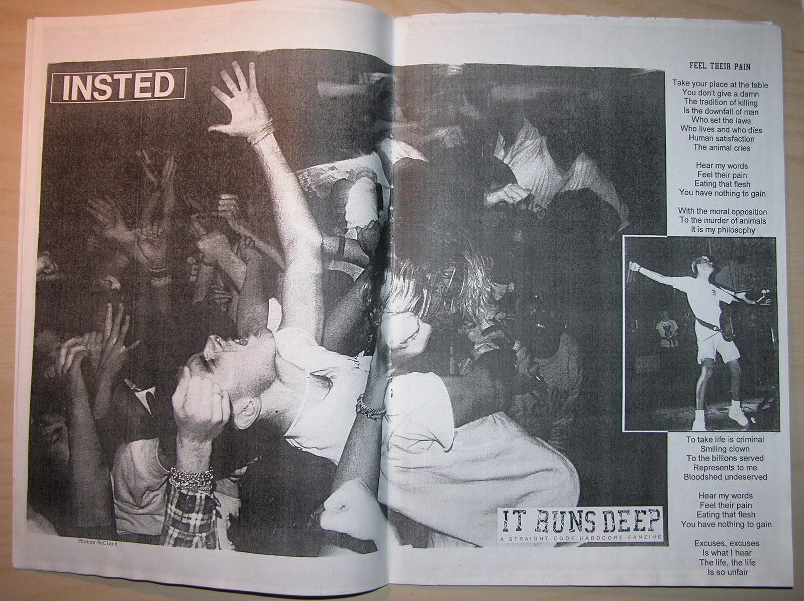 Insted Poster in It Runs Deep Fanzine 2003