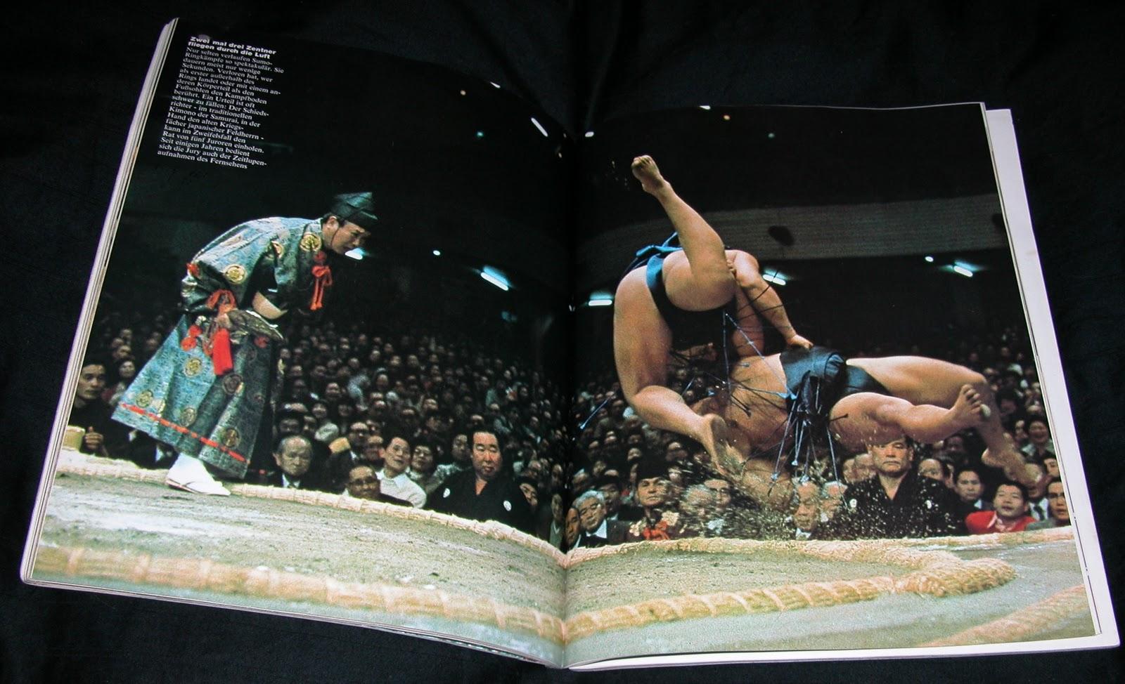 Sumo im GEO Magazin Oktober 1977