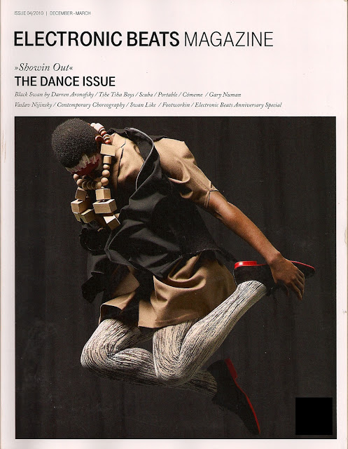 Electronic Baats Magazine December March 2010 Dance