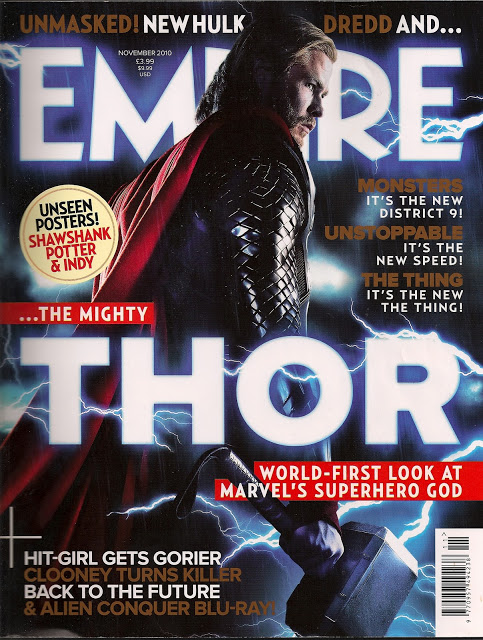 Empire Magazine Thor November 2010