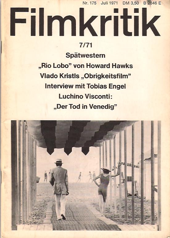 Zeitschrift Filmkritik 7 1971