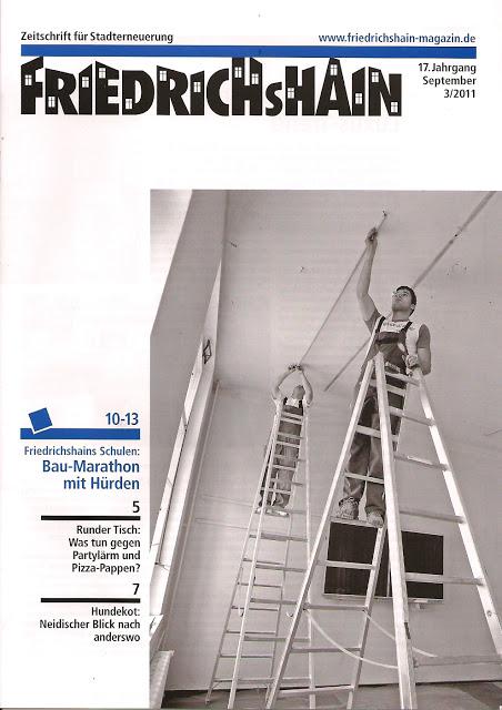 Friedrichshain September 2011 Zeitschrift für Stadterneuerung