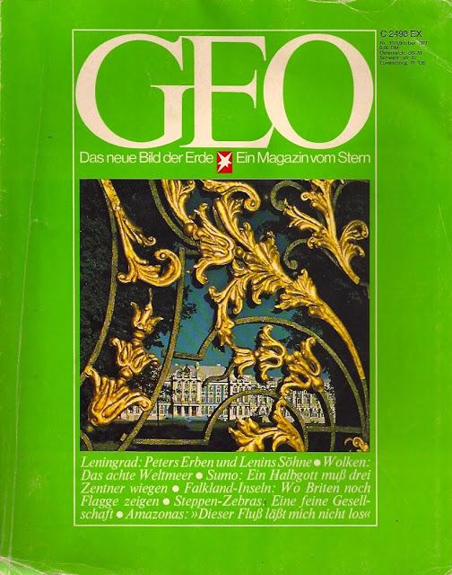 GEO Magazin Oktober 1977
