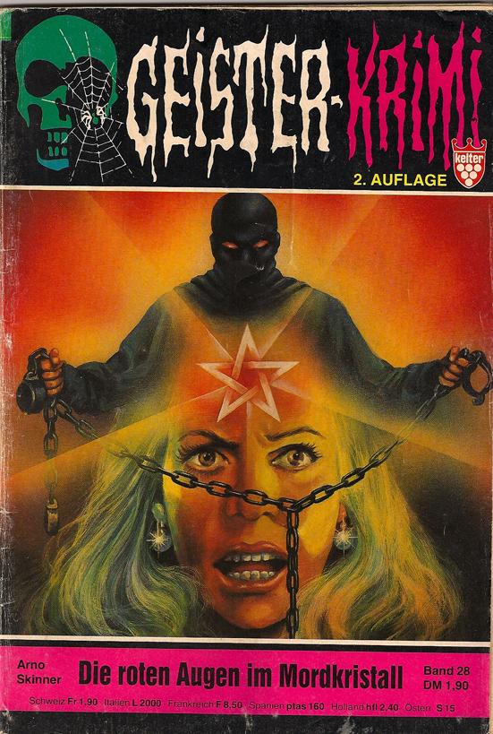 Geister-Krimi Die roten Augen im Mordkristall
