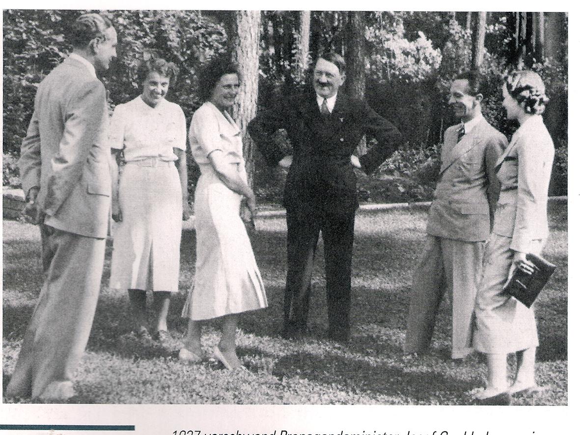 Goebbels mit Hitler