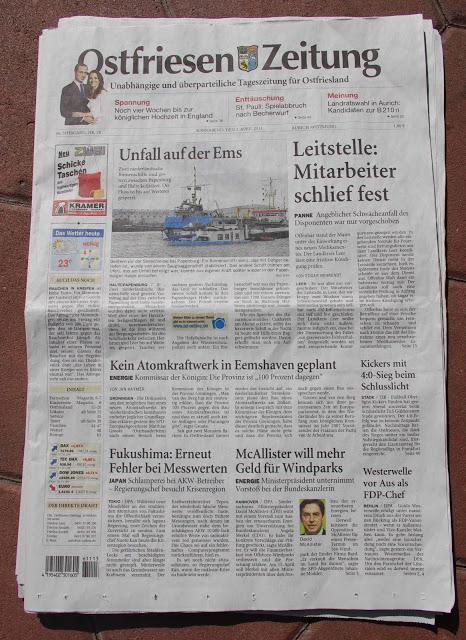 Ostfriesen Zeitung 2011