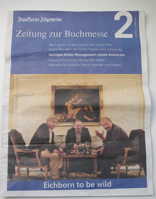 FAZ Frankfurter Allgemeine Zeitung zur Buchmesse 2 2011