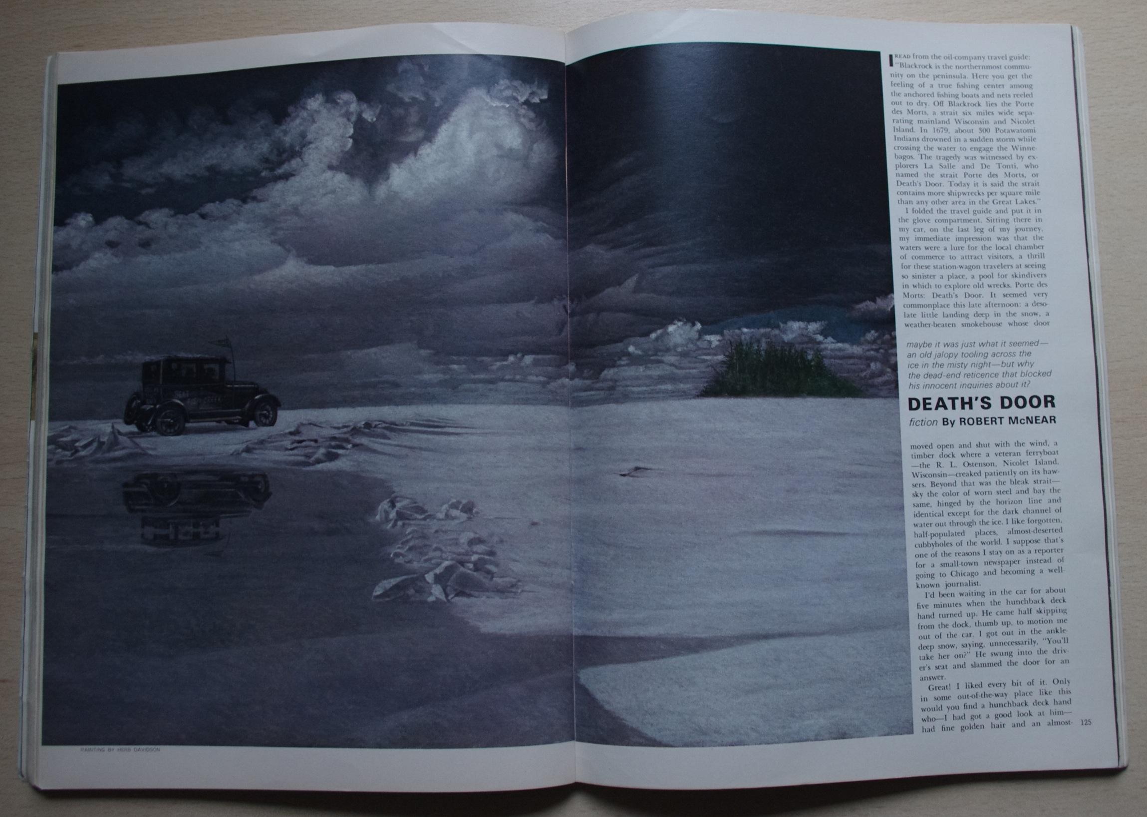 Robert McNear Death's Door Playboy 1969