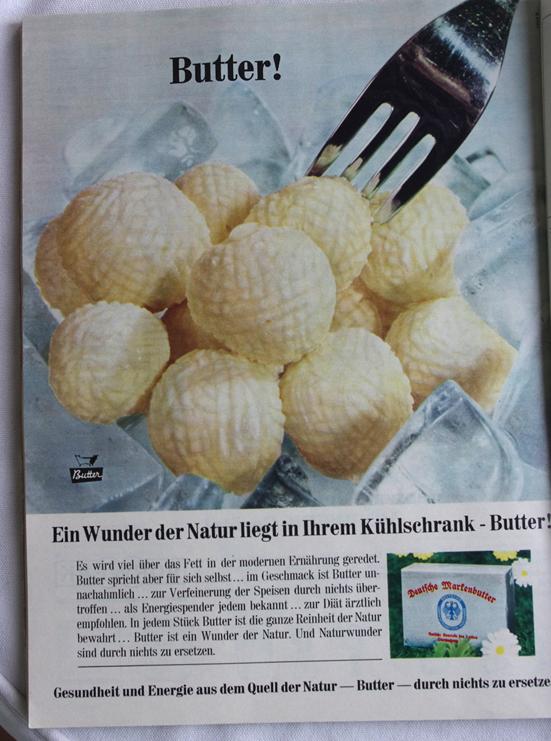 Werbung Butter 1968