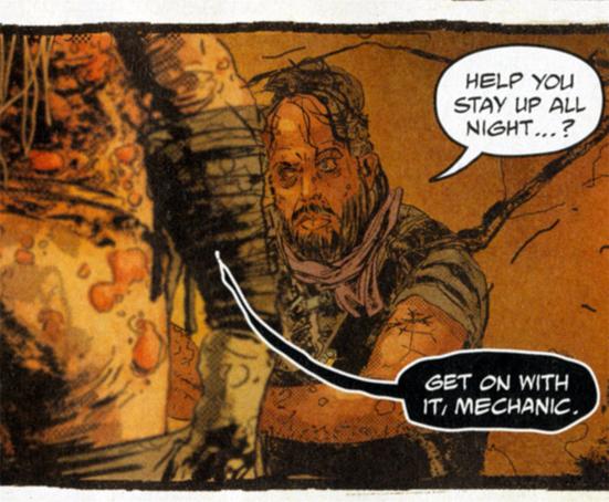 Mad Max Fury Road Comic the Organic Mechanic