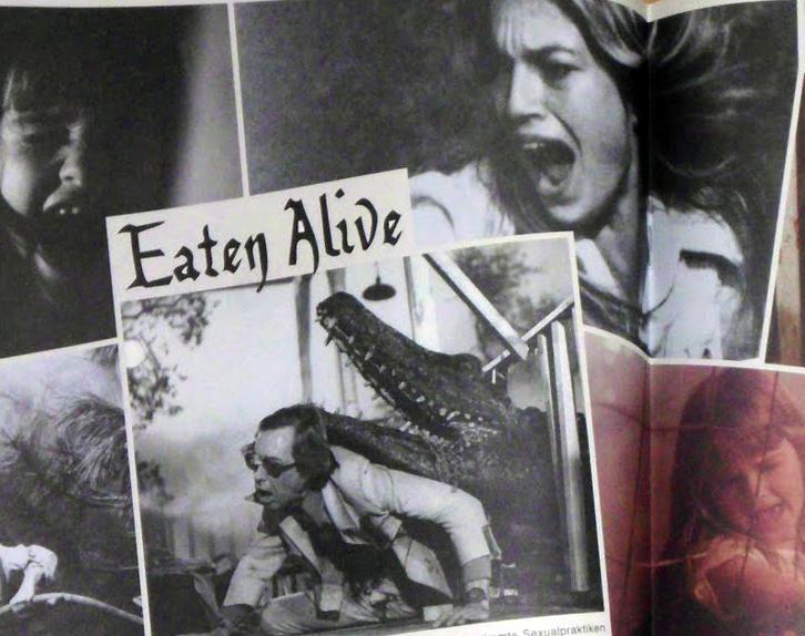 Krokodil Eaten Alive 1977 in Blinking Kino