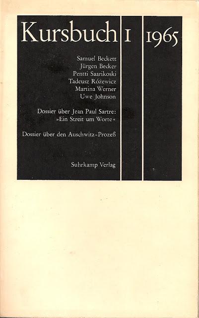 Kursbuch1 1965 Titel