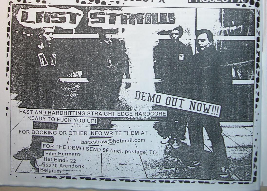 Last Straw pre-Justice Demo ad