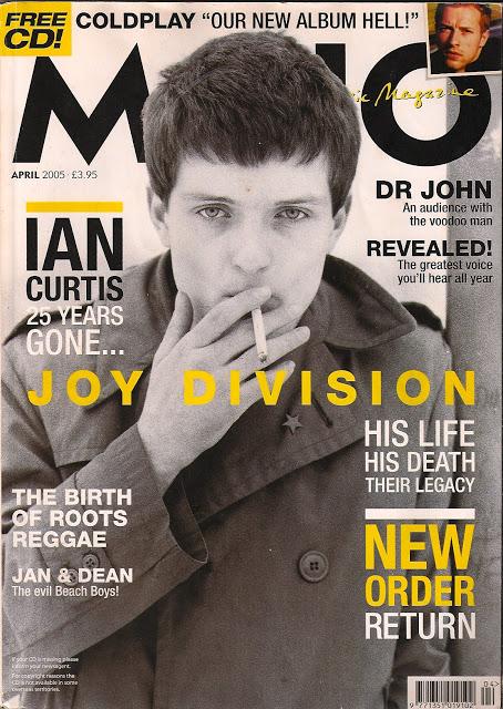 MOJO Magazine Ian Curtis