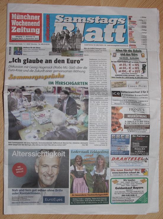 Münchner WochenendZeitung / Samstagblatt