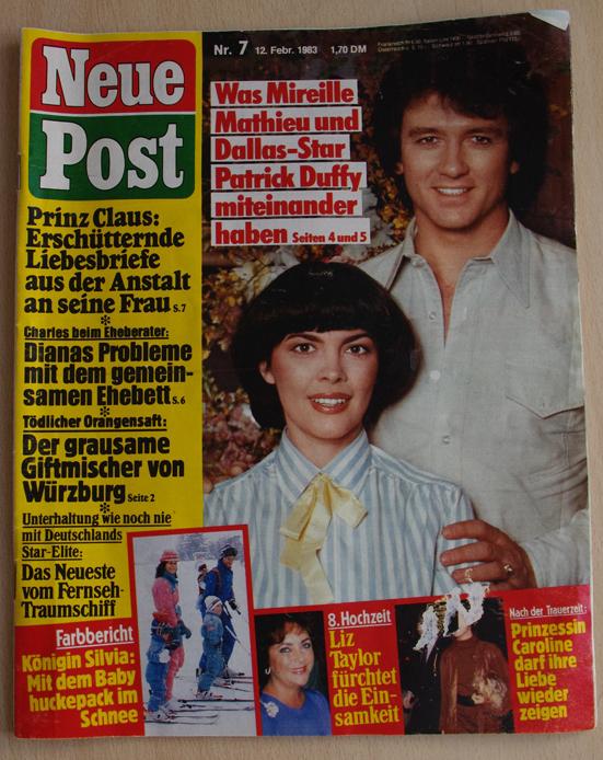 Neue Post Februar 1983 Bauer Verlag