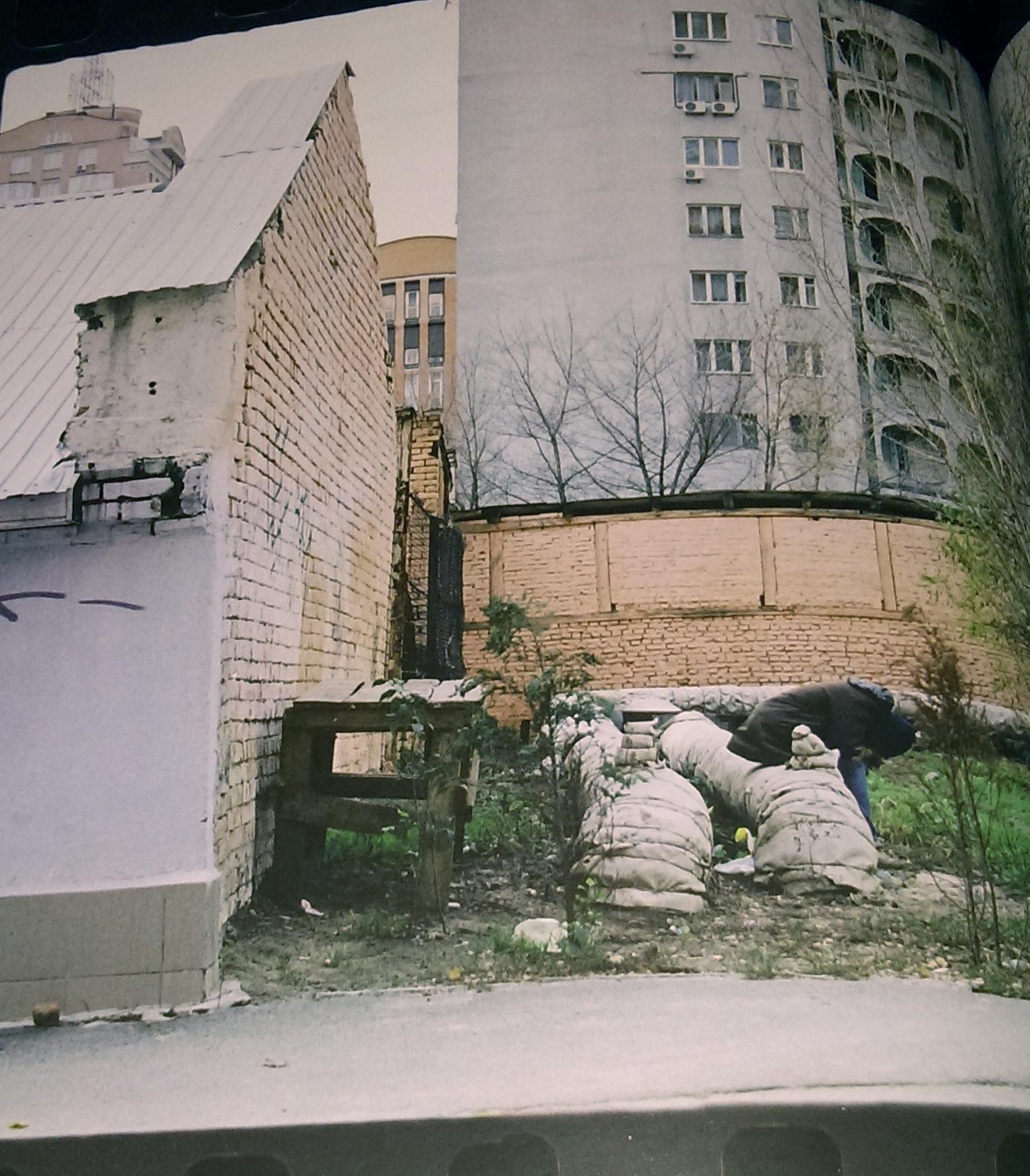 obdachloser in kiew