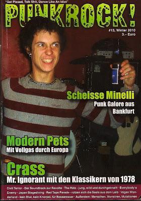 PUNKROCK Fanzine # 13 Winter 2010