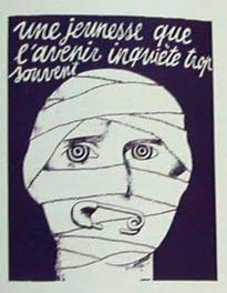 Pariser Mai 1968 Plakat 1