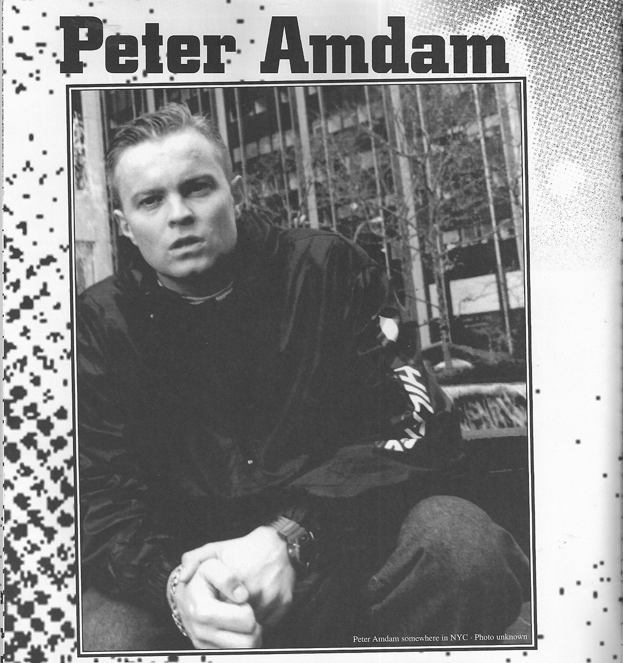Peter Amdam Interview 2007