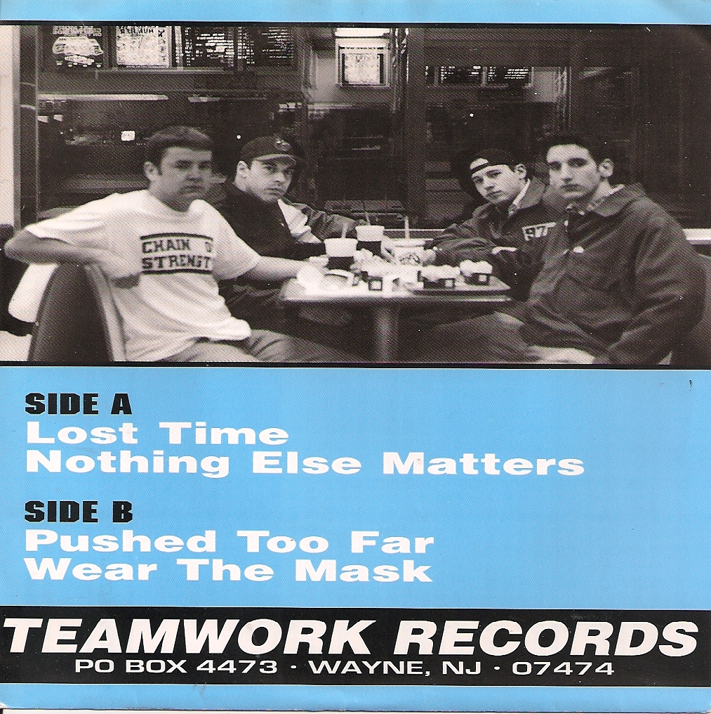 Pushed Too Far Lost Time Teamwork Tecords back cover