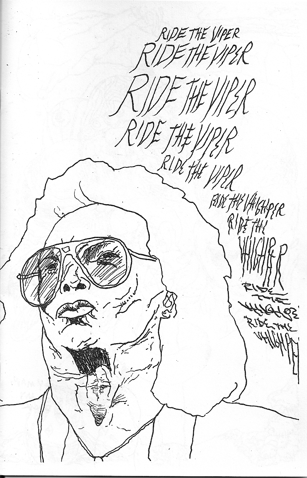 Ride The Viper zine Dan Rossiter