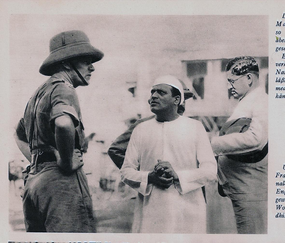 Proteste Indien 1920