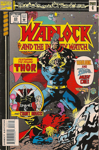 WARLOCK AND THE INFINITY WATCH Vol. 1, No. 23, 23 December 1993