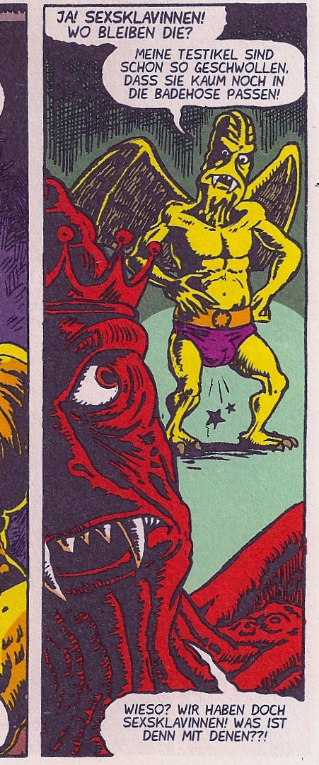 Weissblech Weltbeste Comics 19 Wollüstige Vampire aus dem Weltraum 2
