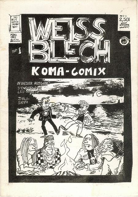 Weissblech Coma-Komix # 1 1993