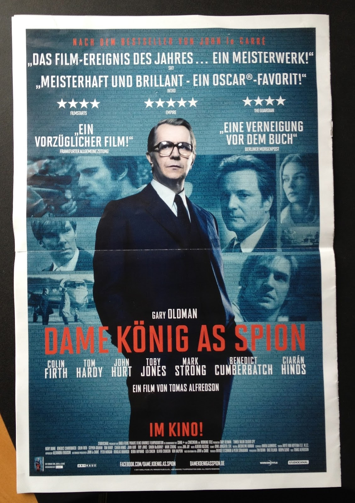 Dame König As Spion Filmplakat