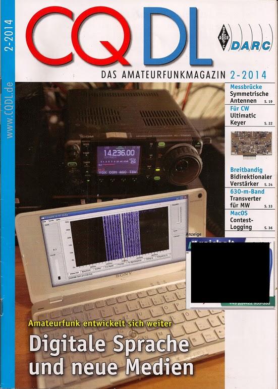 CQ DL Funkerzeitschrift 2014