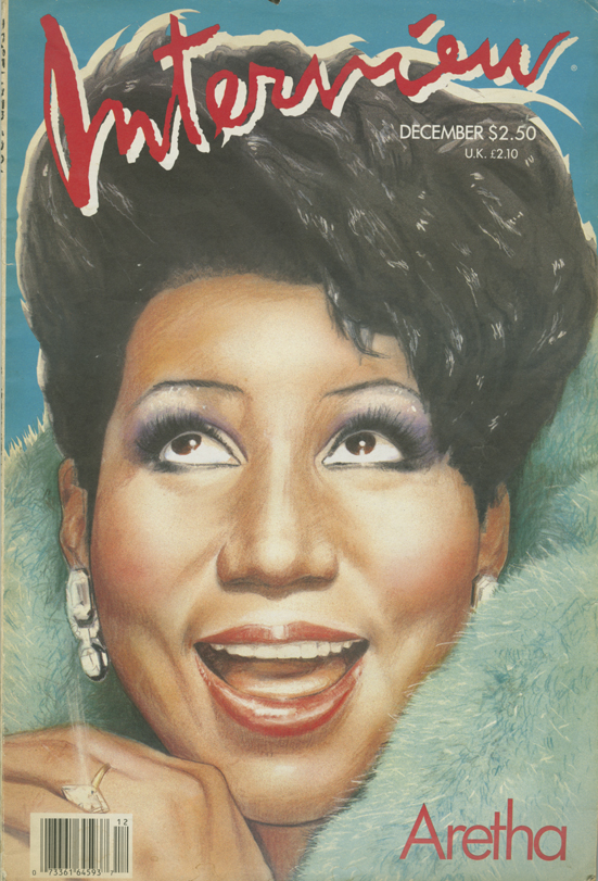 Aretha Franklin Interview Magazine 1986