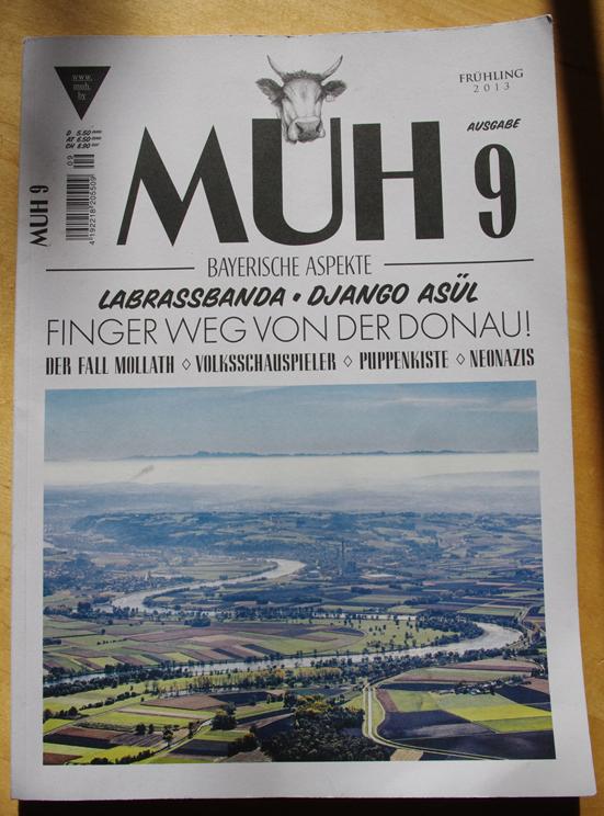 MUH - AUSGABE 9, FRÜHLING 2013