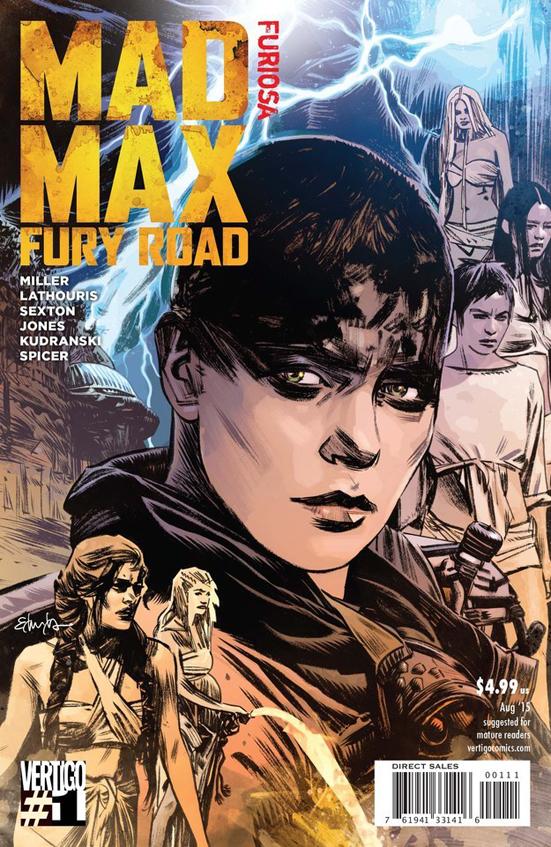 MAd mAx Fury Road Comic 2 Furiosa