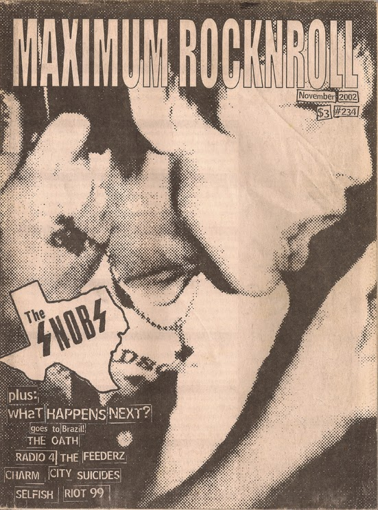 Maximum Rocknroll November 2002 The Snobs