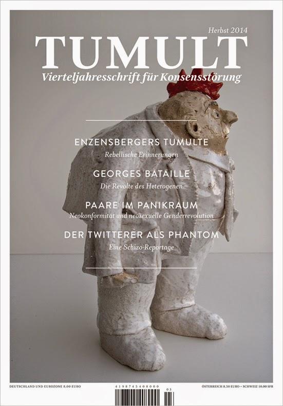 TUMULT Zeitschrift Herbst 2014