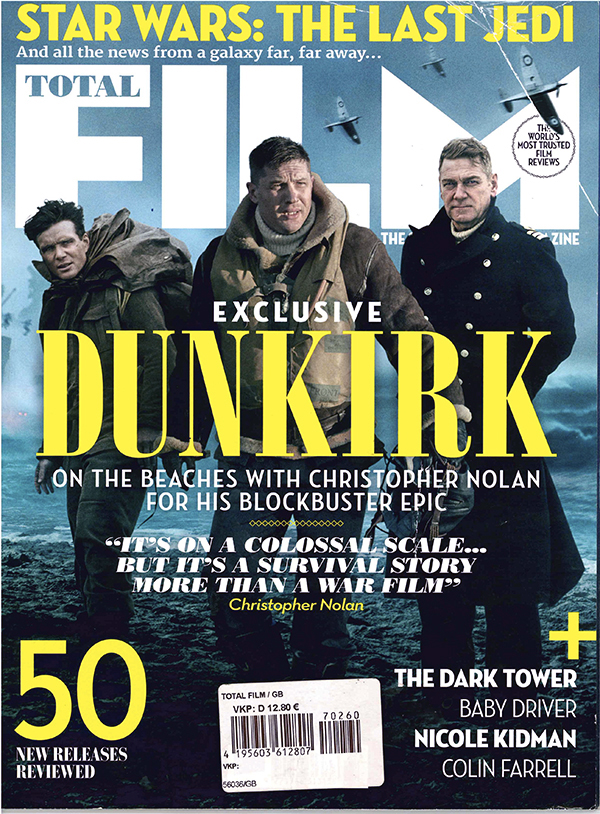 Dunkirk Total Film magazine