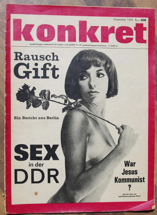 konkret Dezember 1965